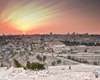 Mount of Olives Sunset