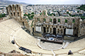 The The Odeon of Herodes Atticus built in 161 AD