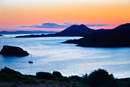 Aegean Sea Sunset Viewed from The Temple of Poseidon