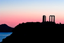 Sunset Viewed from The Temple of Poseidon