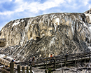 Mammoth Hot Springs Main Mound Wows Visitors