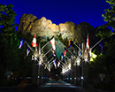 Mount Rushmore National Monument lightshow