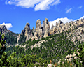 Cathedral Spires Seen from Needles Highway