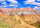 Yellow Mounds Overlook in Badlands National Park