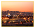 Old City and Dome of the Rock Sunset