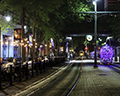 Main Street Trolley and night life