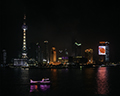 Pudong Skyline including Oriental Pearl Tower (left)