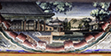 Imperial Summer Palace Mural-Village View