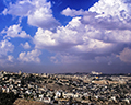 Approaching Storm over Jerusalem
