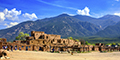 North House-1540 AD and Taos Mountain