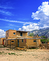 Taos Home by Corral