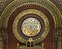 Spanish Synagogue Stained Glass