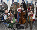 Vilshofen Oktoberfest band and Bier Queen Lisa