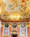 Marble hall ceiling fresco by Paul Troger (1731)