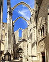 Convento Do Carmo Arches and Shadows
