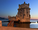Belem Tower Sunset