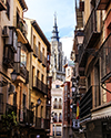 Narrow Streets and Cathedral