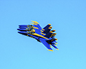 Navy Blue Angels Tight Formation
