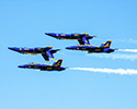 Navy Blue Angels Stunt
