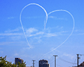 Sky Writing Heart