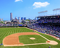 National Anthem Panoramic View at Wrigley Field