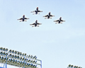 Thunderbirds Low Fly Over
