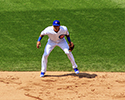 Addison Russell in Ready to Field Position