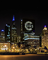 Chicago Lights up for the Cubs