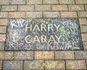 Harry's Paver with Chalk Tributes